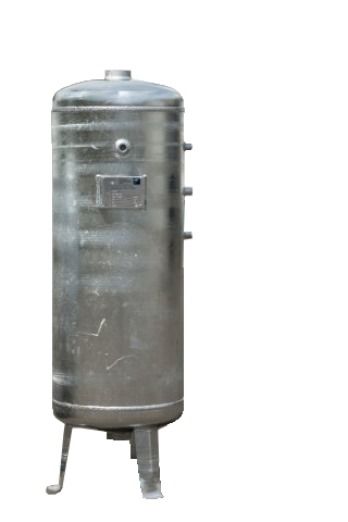 Tank 90L (11 bar) Galvanized - Vertical