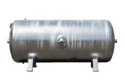 Tank 90L (11 bar) Galvanized - Horisontal