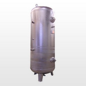 Tank 10000L (11 bar) Galvanized - Vertical