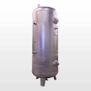 Tank 500L (16 bar) Galvanized - Vertical